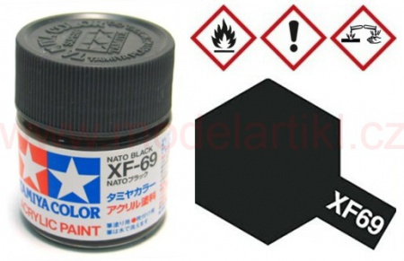 XF-69 NATO Black 10ml 001/81769