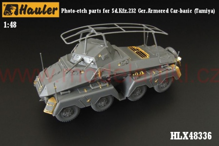 Sd.Kfz.232 German Armored Car-basic (Tamiya) 039/HLX48336