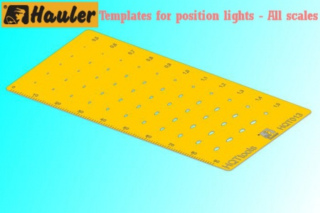 Templates for position lights - All scales 039/HQT013