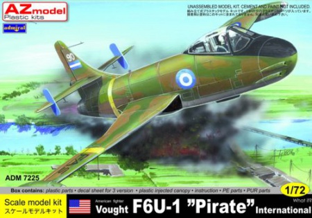 Vought F6U-1 Pirate International 053/ADM7225