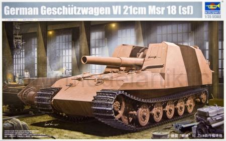 German Geschützwagen VI 21cm Msr 18 (sf)