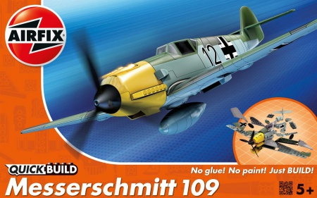 Messerschmitt Bf 109E QUICK BUILD 006/J6001