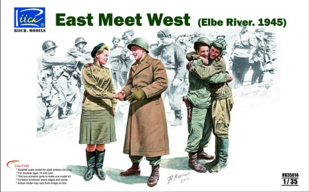 East meet West (Elbe River 1945) 070/RV35014
