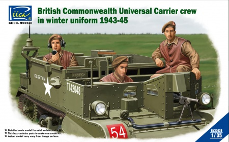 British Commonwealth Universal Carrier crew in winter uniform 1943-1945 070/RV35028