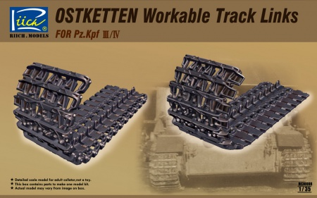 Ostketten Workable Track Links for Panzer III/IV 070/RE30008