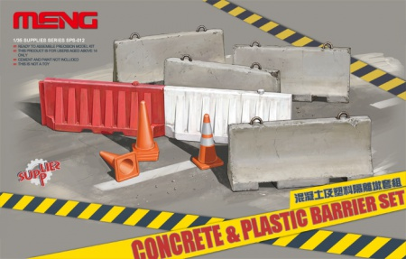Concrete & Plastic Barrier Set 061/SPS-012