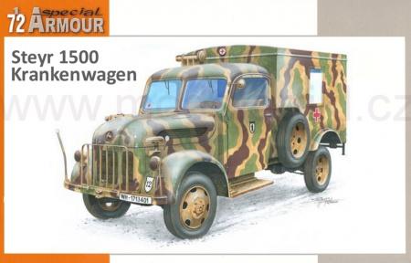 Steyr 1500 Krankenwagen