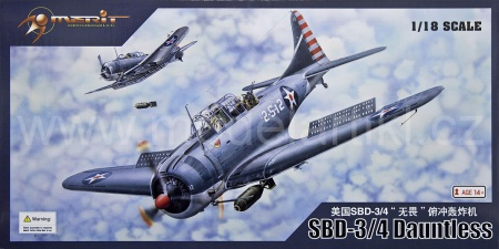 Douglas SBD-3/4 Dauntless early/late version 083/MIL-61801