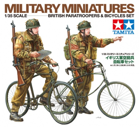 British Paratroopers - Bicycle set