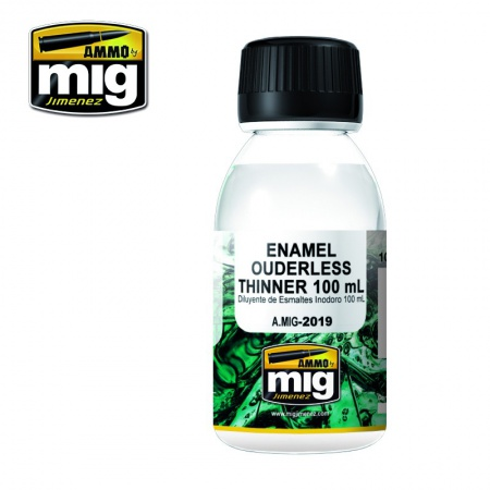 Enamel Ouderless Thinner 100ml 085/A.MIG-2019
