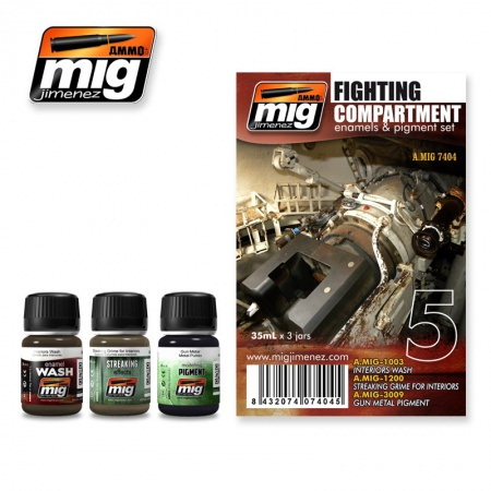 Fighting Compartment Set 3x35ml 085/A.MIG-7404