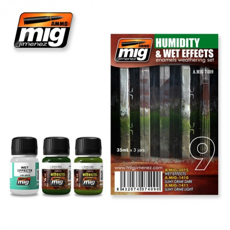 Humidity and Wet Effects Set 3x35ml 085/A.MIG-7409
