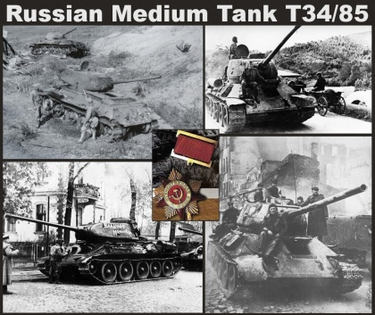 T-34/85 model 1944 Fty.183