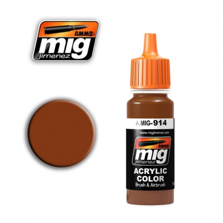 Red Brown Light 17ml 085/A.MIG-914