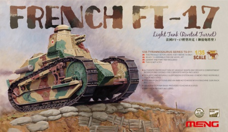 French FT-17 Light Tank (Riveted Turret) 061/TS-011