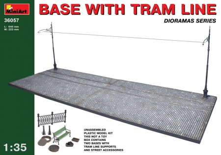 Base with Tram Line 089/36057
