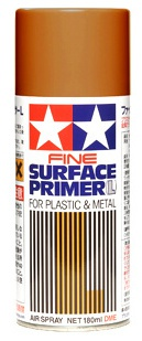 Fine Surface Primer (Oxide Red), spray 180ml 001/87160