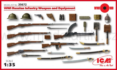 WWI Russian Infantry Weapon and Equipment