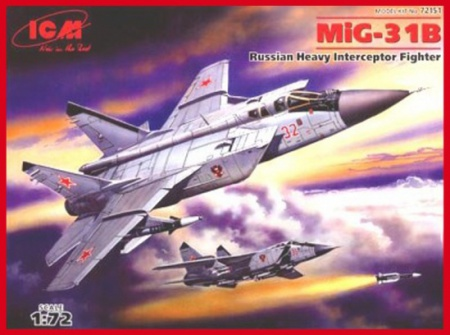 MiG-31B Russian Heavy Interceptor Fighter 057/72151
