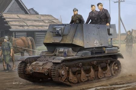Befehlsfahrzeug auf Fgst.Pz.Kpfw.35 R 731(f)