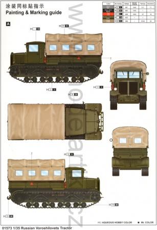 Russian Voroshilovets Tractor