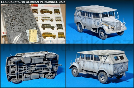 L1500A (Kfz.70) German Personnel Car