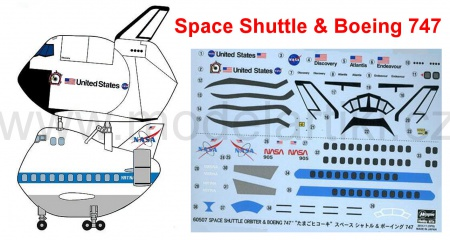 Space Shuttle & Boeing 747 (Egg Plane-Limited Edition)