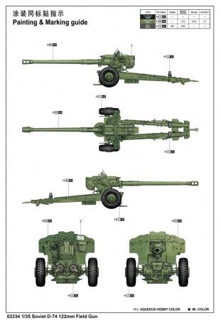 D-74 122mm
