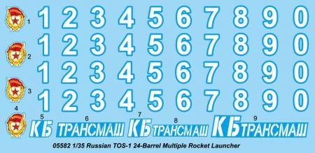 TOS-1 24- Barrel Multiple Rocket Launcher