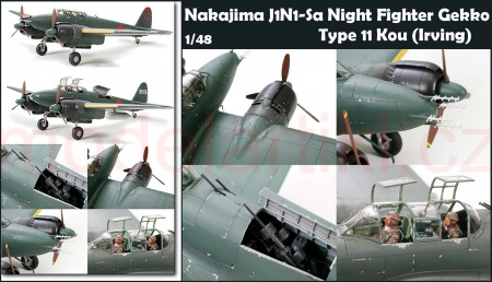 Nakajima J1N1-Sa Night Fighter Gekko Type 11 Kou (Irving)