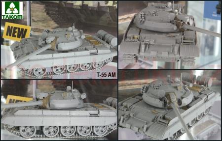 T-55 AM Russian Medium Tank