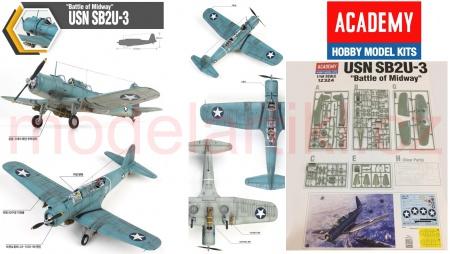 USN SB2U-3 Battle of Midway (Limited Edition)
