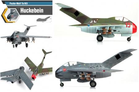 Focke-Wulf Ta183 Huckebein (Limited Edition)