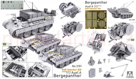 Bergepanther Ausf.A – Assembled by Demag