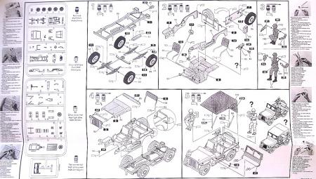 US 1/4 Ton Truck & Trailer / Starter Set