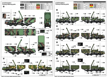 Russian 30N6E Flaplid Radar System