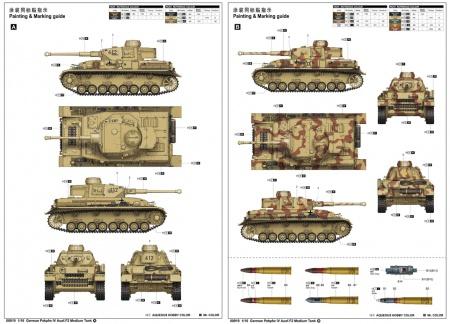 Panzerkampfwagen IV Ausf.F2(w/ full interior kit)