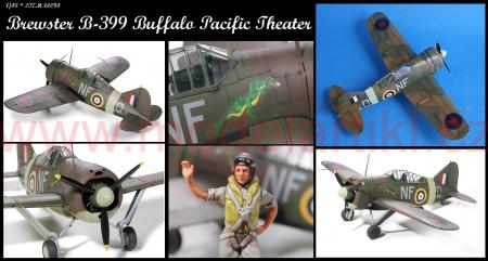 Brewster B-339 Buffalo Pacific Theater