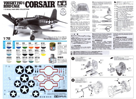 Vought F4U-1 Bird Cage Corsair