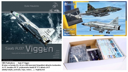 SAAB 37 Viggen Duo Pack & Book (Limited Edition)