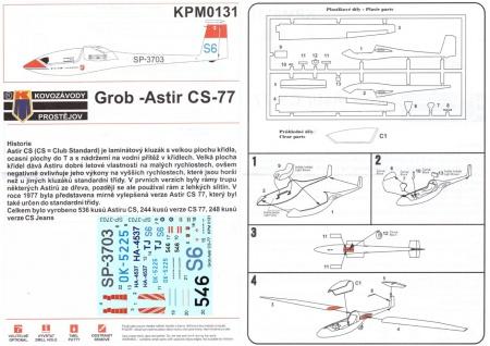 Grob Astir CS-77