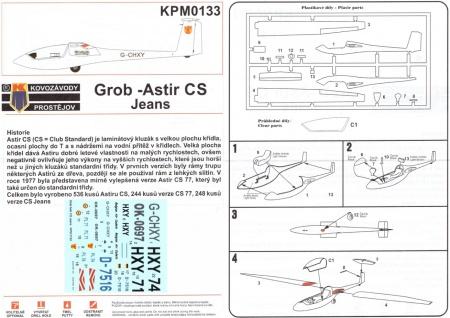 Grob Astir CS-77 Jeans