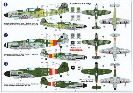 Bf 109G-10Erla Late Block 15XX