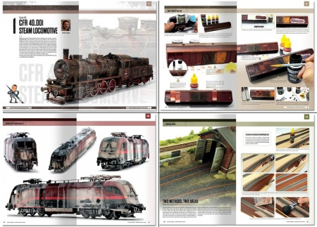 Modelling School - Railway Modeling: Painting Realistic Trains (English Version)