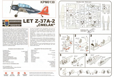 Let Z-37A-2 Čmelák