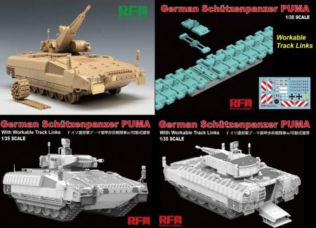 German Schutzenpanzer PUMA with Workable Track Links