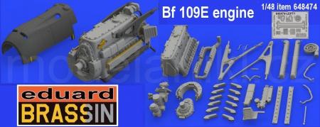 Bf 109E engine (Eduard)