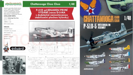 Chattanooga Choo Choo P-51D (Limited edition)