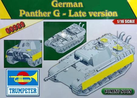 German Sd.Kfz.171 Panther Ausf.G - Late Version (w/ full interior kit)