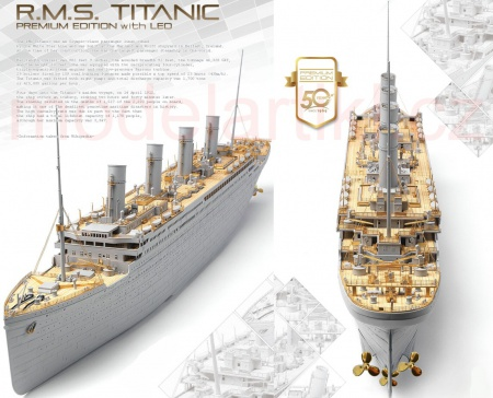 R.M.S. Titanic Premium Edition with LED Units
